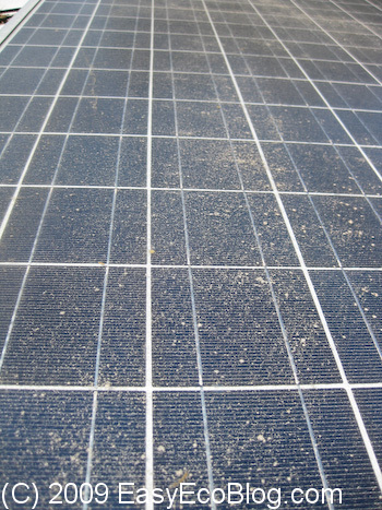 Dirty Solar Panels