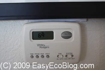optimizing setting a programmable thermostat to save money and energy. Black Bedroom Furniture Sets. Home Design Ideas