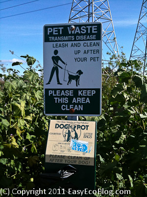 dog waste bag, dog poop