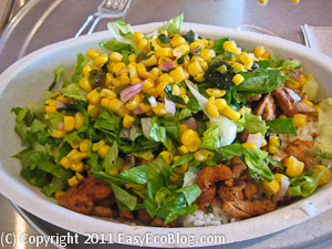 chipolte Mexican Grill, chicken