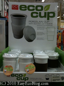 Eco-Friendly, Green Reusable Coffee Cup