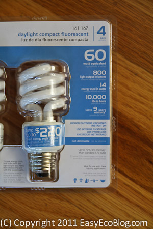 Compact Fluorescent Light Bulbs CFL Energy Savings