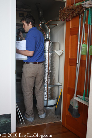 Home Energy Audit Heating Equipment Check