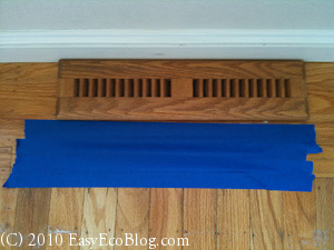 Home Energy Audit Heating Vents
