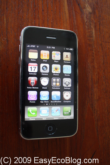 Apple iPhone 3GS smart phone, cell phone